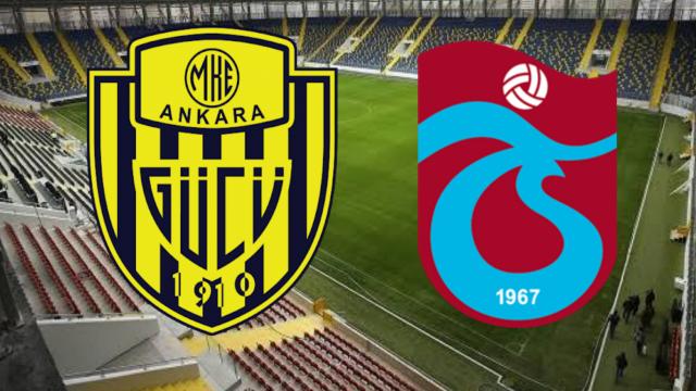 Ankaragücü'nün rakibi Trabzonspor'da son durum...