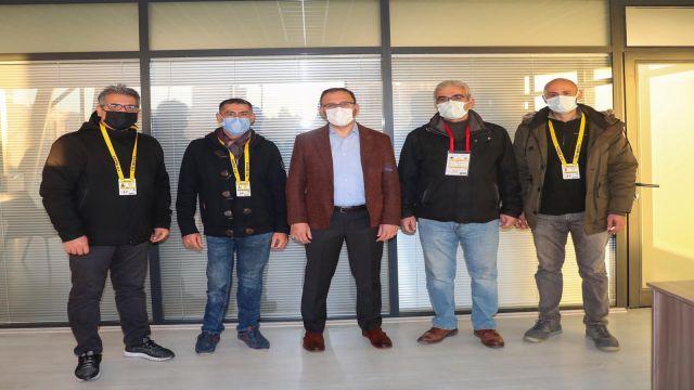 Bakan Kasapoğlu, TSYD Ankara yöneticilerini kabul etti