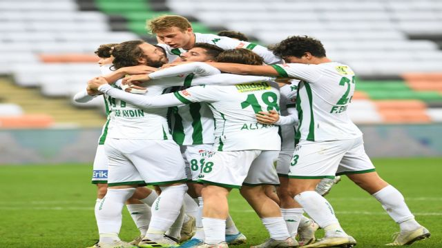 Bursaspor uzatmalarda işi bitirdi 1-0