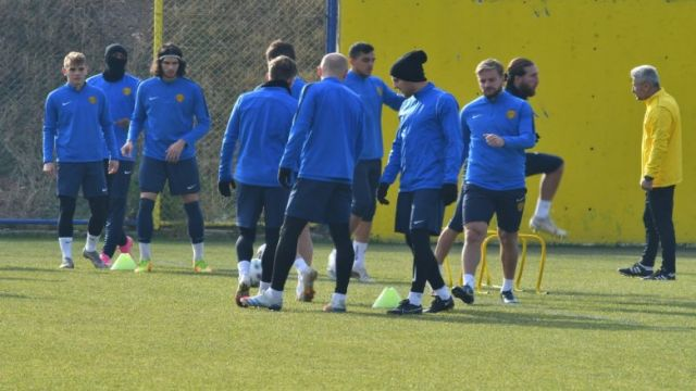Başkent'te, Antalyaspor hazırlıkları...