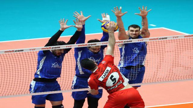 Dostluk maçı Halkbank'ın