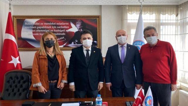 Ankara Vali Yardımcısı Dr. Ayhan Özkan AASKF'yiziyaretetti