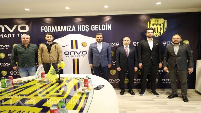 Ankaragücü-Onvo TV ortaklığı başladı...