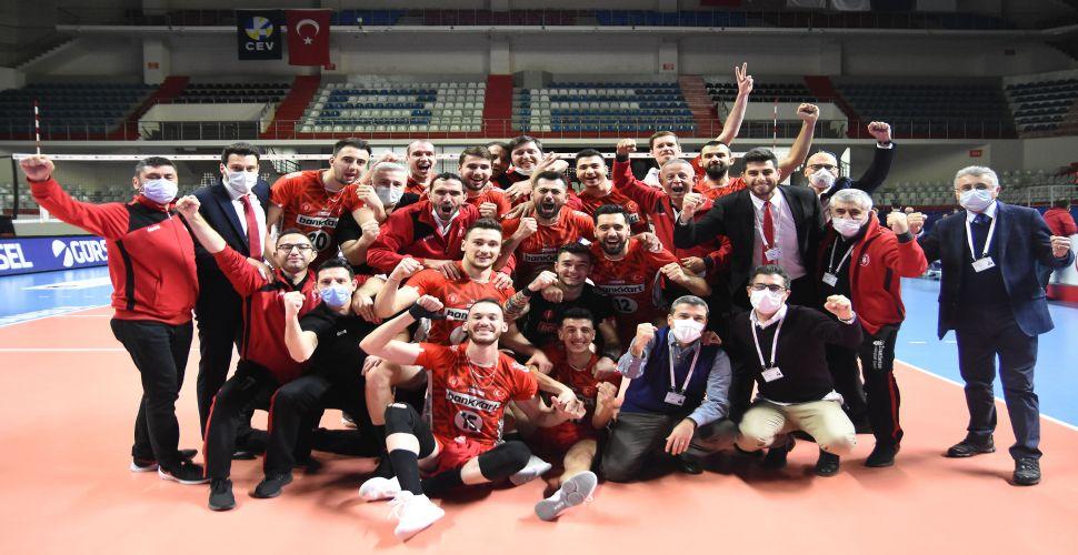 Ziraat Bankkart, finali Fenerbahçe ile oynayacak