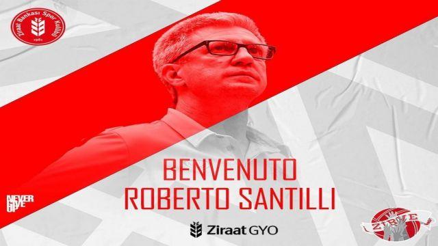 Ziraat Bankkart, İtalyan antrenör Roberto Santilli ile anlaştı