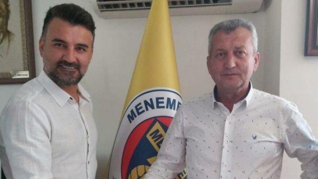 1.Lig: Menemenspor'da teknik direktör imzaladı