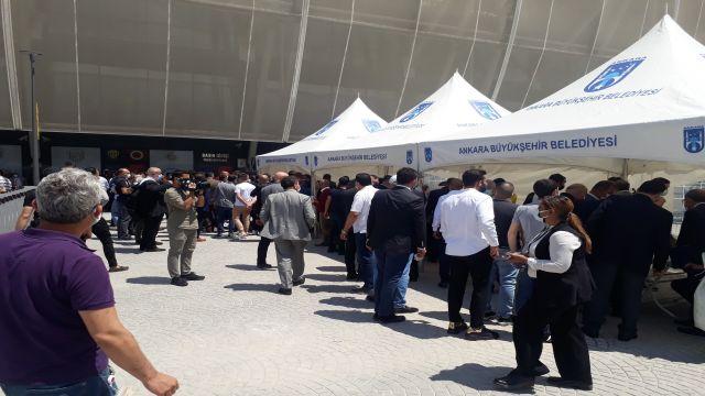 Ankaragücü kongresi başladı
