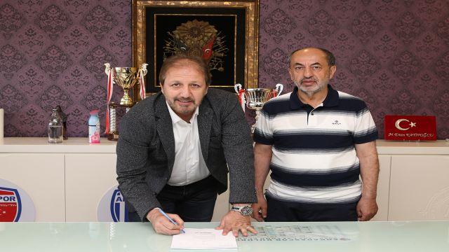Ankaraspor, Taner Taşkın ile anlaştı