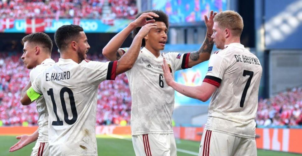 Keyif verdiler... Danimarka evinde yıkıldı 2-1