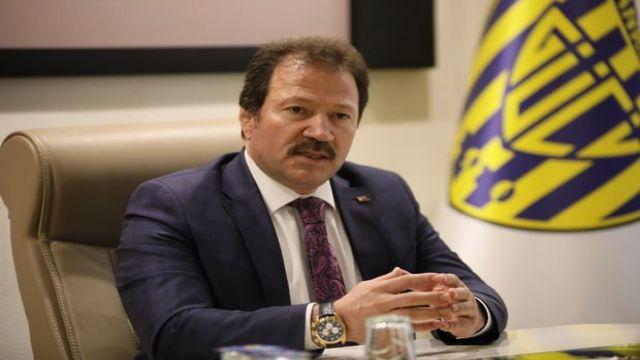 Mehmet Yiğiner, Faruk Koca'yı kutladı
