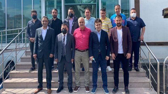 Murat Kandazoğlu, Mesut Şahingöz'e hayırlı olsun ziyaretinde bulundu