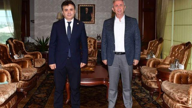 Murat Kandazoğlu'ndan Yavaş'a teşekkür ziyareti