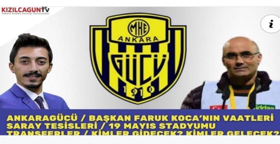 VİDEO   Kızılcagün Tv'de MKE Ankaragücü değerlendirildi