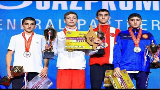 Altındağ'lı Refik Kartal, Avrupa üçüncüsü