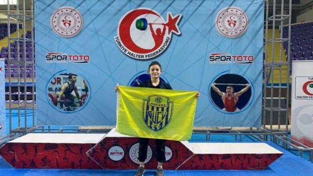 Ankaragücü Halter Takımı 2 gümüş 1 bronz madalya kazandı