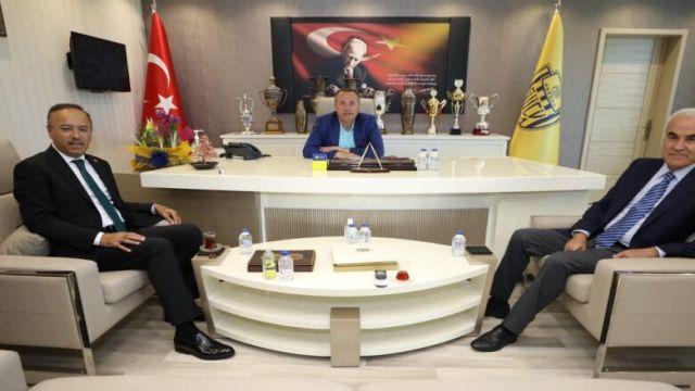Ankaragücü'ne ziyaret