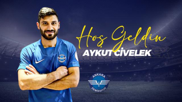 Aykut Civelek, Ankara Demirspor'da !