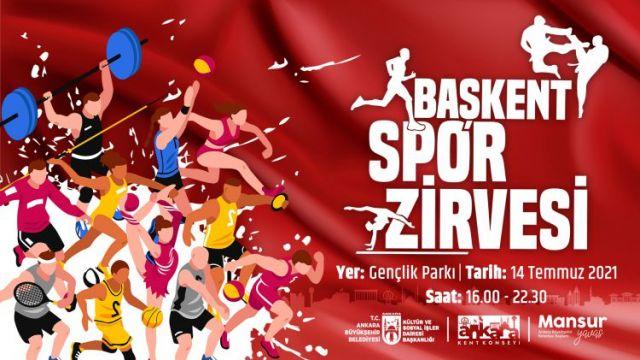 Başkent'te Büyükşehir'den spor zirvesi