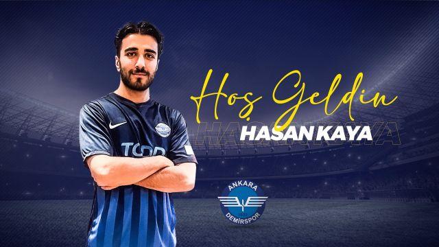 Hasan Kaya, Ankara Demirspor'da devam ediyor