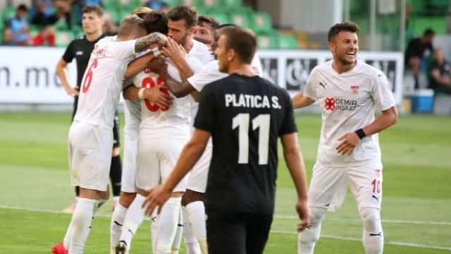 Petrocub: 0 - Demir Grup Sivasspor: 1