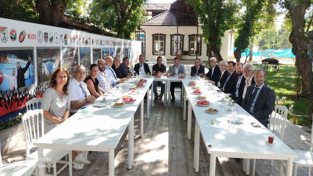 TSYD Genel Başkanı Oğuz Tongsir ilk ziyaretini TSYD Ankara Şubesi'ne yaptı