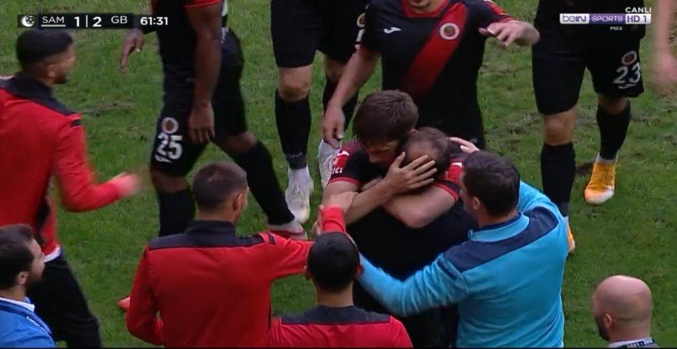 Arda Kızıldağ golünü attı, Diyadin'e sarıldı!