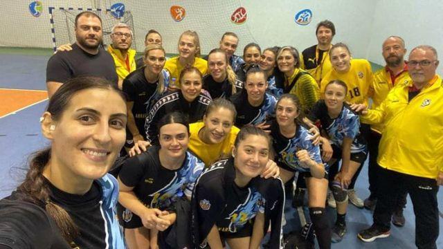 EGO Spor, Araç Belediyespor'u farklı geçti 44-27