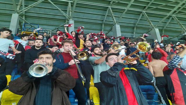"""Gençlerbirliği - Boluspor maçında """"Bando şov!"""" vardı..."""