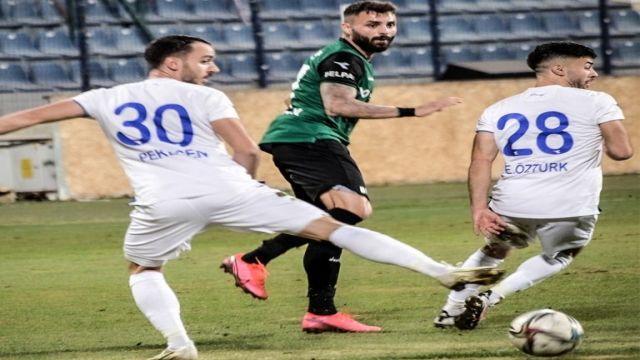 Ankaraspor, Sakaryaspor'a takıldı 1-1