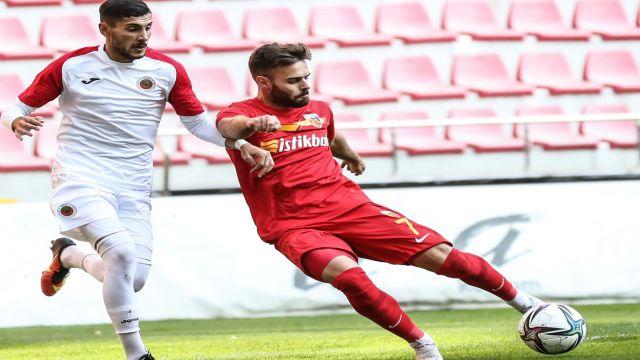 Gençler, hazırlık maçında Kayserispor'a yenildi