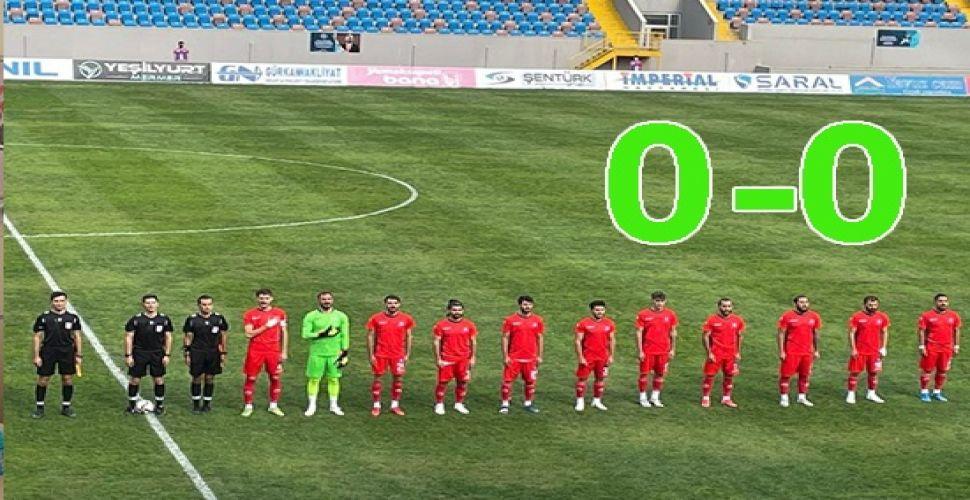 Kırıkkale BA, deplasmanda yenilmiyor 0-0