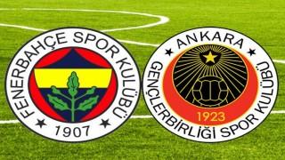 Gençlerbirliği, Fenerbahçe ile karşılaşacak