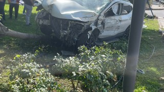 Ankaragücü'nün eski futbolcusu Hurşit Tarşı kaza geçirdi